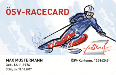 ÖSV RaceCard